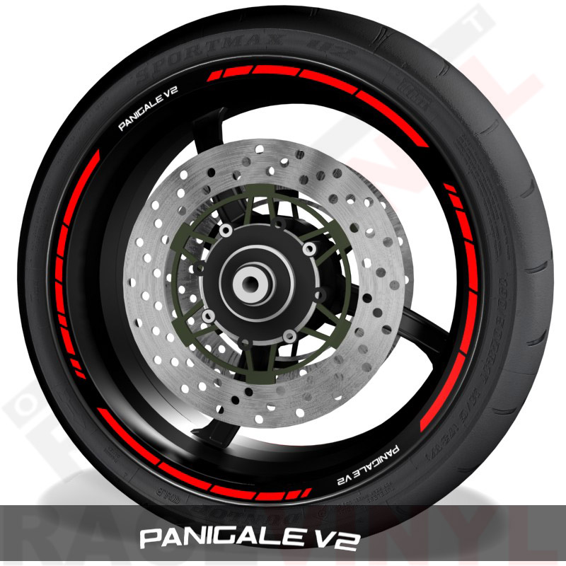 Rim sticker stripe vinyls for Ducati Panigale V2 speed