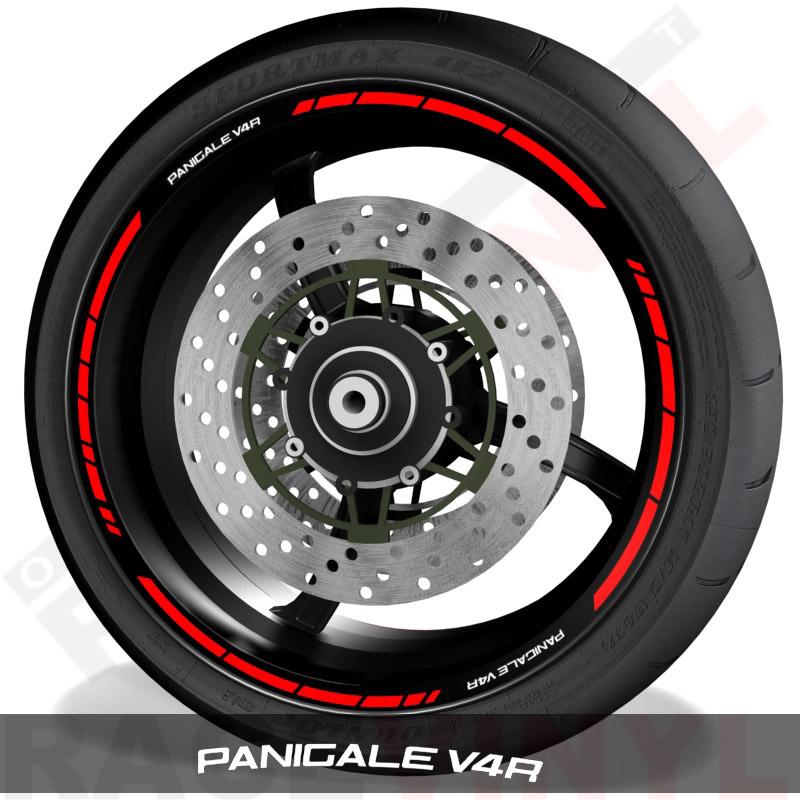 Rim sticker stripe vinyls for Ducati Panigale V4R speed