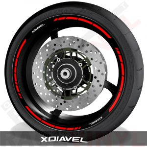 Rim sticker stripe vinyls for Ducati Xdiavel speed
