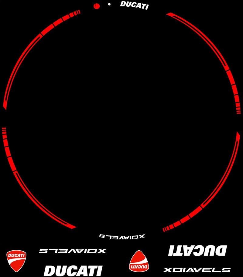 Contenido Kit PRO Ducati XDiavelS adhesivos